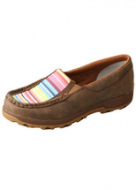 Twisted X Womens Striped Cell Slip On