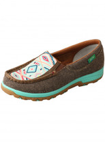Twisted X Womens Eco Aztec Cell Stretch Slip On