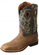 Twisted X Mens Navy Top Hand Boot