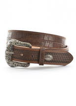 Pure Western Mens Hogan Belt