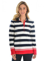 Thomas Cook Womens Yass Stripe Rugby