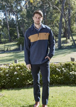 Thomas Cook Mens Shaw Panel Stripe Rugby