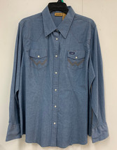 Wrangler Stretch Denim Shirt