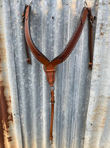 Calgary Western Breastplate With Studs- ST-118