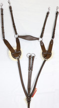 Canterbury 5 Point Jump Breastplate with Fleece