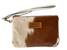 Newmarket's Town & Country Cowhide Clutch