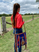 Newmarket's Town & Country Navajo Cross Body Bag