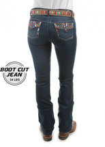 Pure Western Womens Courtney Boot Cut Jean