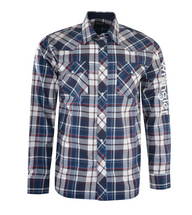 Wrangler Mens Powell Check L/S Shirt