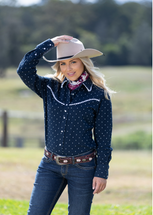 Pure Western Womens Yvonne L/S Shirt