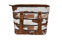 Newmarket's Town & Country Cowhide Handbag
