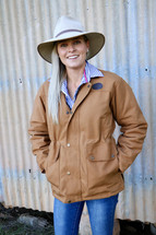Newmarket's Town & Country Canvas Fleece Lined Danni Jacket