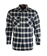 Dux-Bak Mens Campbell Town Thermal Check L/S Shirt
