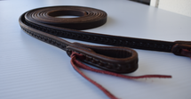 Calgary Tooled Leather Split Reins