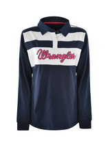 Wrangler Womens Claudia Pannelled L/s Rugby