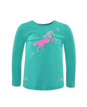 Thomas Cook Girls Toby Horse L/s Top