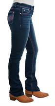 Pure Western Womens Jules Relaxed Rider Jean