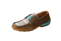Twisted X Womens Rainbow Aztec Mocs Low Lace Up