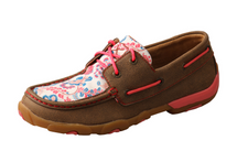 Twisted X Womens Floral Vine Moc Low Lace Up