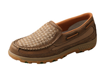 Twisted X Womens Weave Cell Stretch Slip On Moc