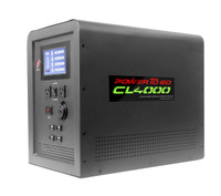 PSA CL4000 equipped with 1500 watt Pure Sine wave inverter and 160 watt Folding solar panel kit