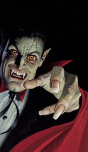 Vampire Halloween Window Poster Decoration