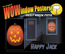 Happy Jack WOWindow Poster as seen in a house
