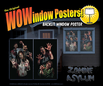 zombies in a house at night