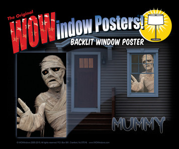 Mummy Poster as seen in a house