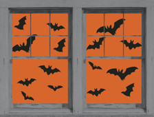 Make a Scene Bats Posters shown in two windows