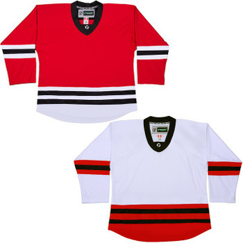sports shoes 78820 b1dbd NHL Uncrested Replica Jersey DJ300 - Chicago Blackhawks