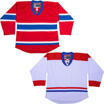 online store a6996 ce3e1 NHL Uncrested Replica Jersey DJ300 - Montreal Canadiens