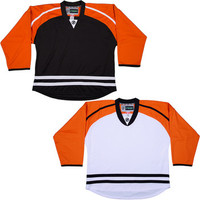 NHL Uncrested Replica Jersey DJ300 - Philidelphia Flyers