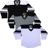 NHL Uncrested Replica Jersey DJ300 - LA Kings