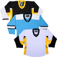 NHL Uncrested Replica Jersey DJ300 - Pittsburgh Penguins