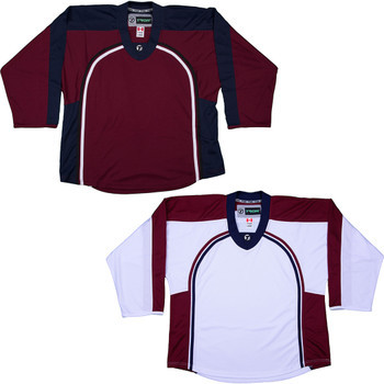 best website 617f7 27a2b NHL Uncrested Replica Jersey DJ300 - Colorado Avalanche