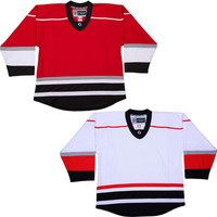 NHL Uncrested Replica Jersey DJ300 - Carolina Hurricanes