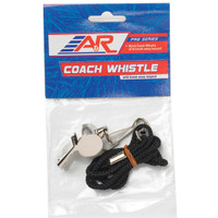 A&R Metal Coaches Whistle W/Lanyard