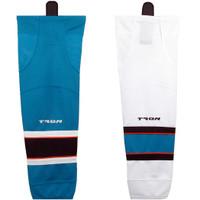 Tron SK300 Dry Fit Hockey Socks - San Jose Sharks