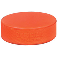 Orange Ice Puck
