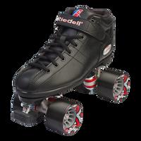 Riedell R3 Black Skate