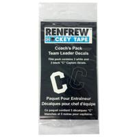 """Renfrew 3"""" Tape Letter C"""
