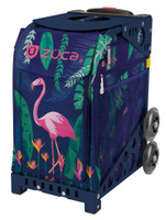 Zuca Wheeled Bag - insert only - Flamingo