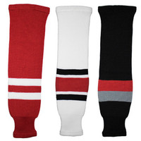 Tron SK200 Knit Hockey Socks - Carolina Hurricanes