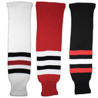 Tron SK200 Knit Hockey Socks - Chicago Blackhawks