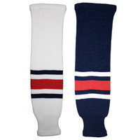Tron SK200 Knit Hockey Socks - Columbus Blue Jackets
