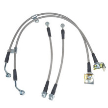 2012-2018 Hyundai Veloster Performance Stainless Braided Brake lines