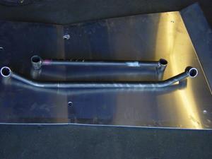 91-96 Ford Escort Front/Rear Tiebar Set