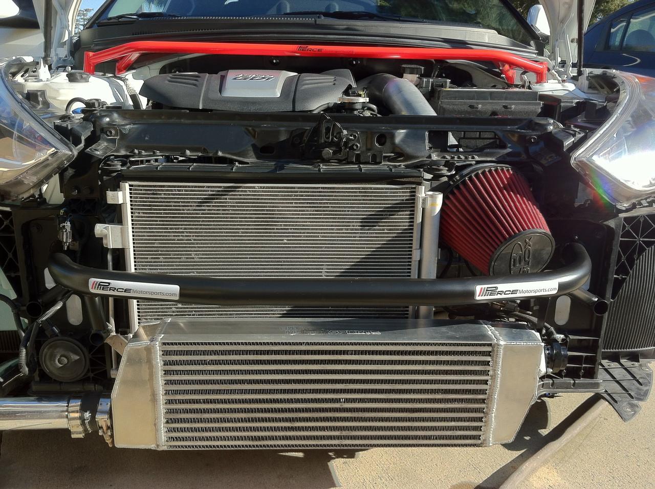 2012 2018 hyundai veloster turbo tubular crashbar with ic relocation Hyundai Veloster Wiring Harness