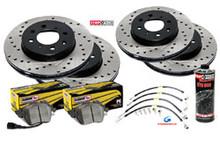 2013-2018 Hyundai Veloster Turbo Piercemotorsports Race Brake Package